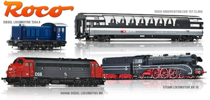 European Steam Locomotive Model for Train Model Vehicle Accessories Model