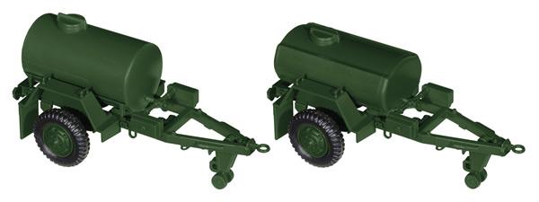 Roco 05163 - Two water-tank trailer M108A1/M149A1