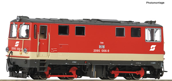 Roco 33299 - Austrian Diesel locomotive 2095 006-9 of the ÖBB