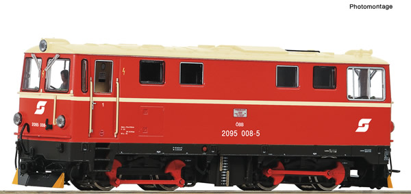 Roco 33300 - Austrian Diesel locomotive 2095 008-5 of the ÖBB