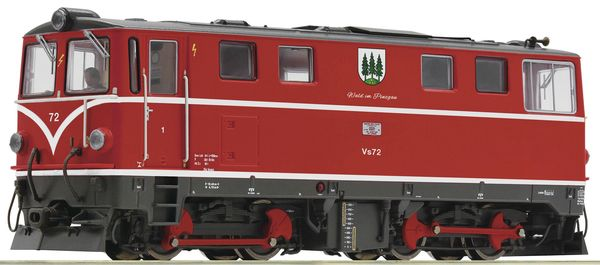 Roco 33319 - Austrian Diesel locomotive Vs 72 of the PLB