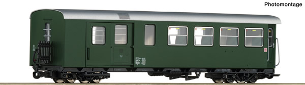 Roco 34033 - Austrian 2nd class passenger car with luggage compartment of the ÖBB