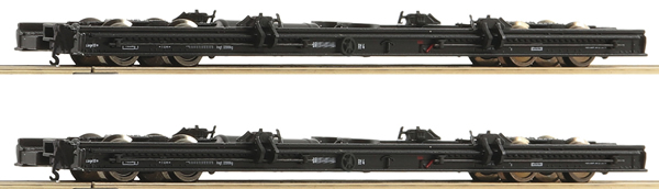 Roco 34067 - 2pc Roll Wagon Car Set