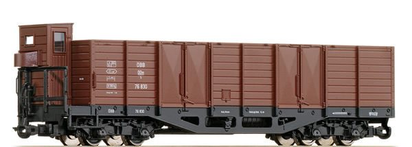 Roco 34528 - German 4 Axle Open Goods Wagon of the DR