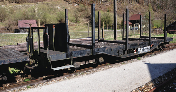 Roco 34580 - Stake Wagon