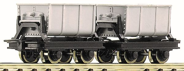 Roco 34601 - 2 Unit Cement Tipping Truck Set