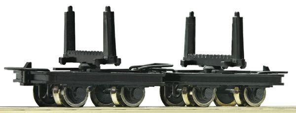 Roco 34602 - 2 Unit Pivoted Bolster Truck Set