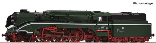 Roco 36036 - German Steam locomotive BR 02 of the DR