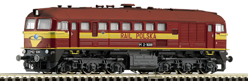 Roco 36241 - Diesel locomotive M62 of Rail Polska