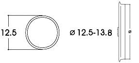 Roco 40066 - Adhesive Ring Set 12.5-13.8mm