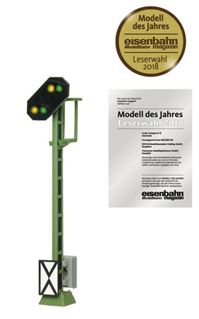 Roco 40600 - German Color Light Distant Signal of the DB