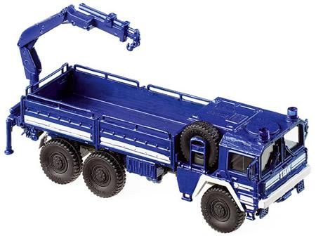 Roco 4102 - Truck MAN-7t+ Crane THW
