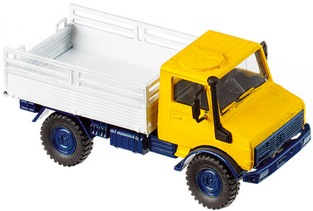 Roco 4105 - Unimog 1300 yellow-white