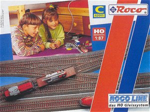 Roco 42011 - Track set C Roco-Line  DISCONTINUED