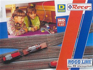 Roco 42012 - Track set D w/rb