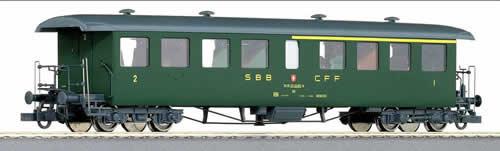 Roco 44730 - Swiss 1st/2nd Class Seetalbahn Passenger Coach of the SBB