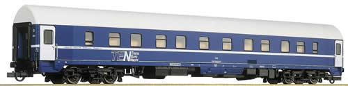 Roco 44843 - Sleeping car TEN, blue, +BB