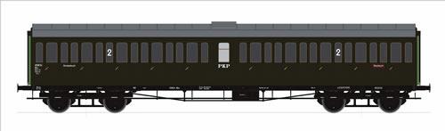 Roco 45310 - 2nd Class Passenger Wagon