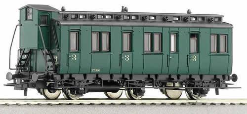 Roco 45657 - 3rd class compartment car, SNCB