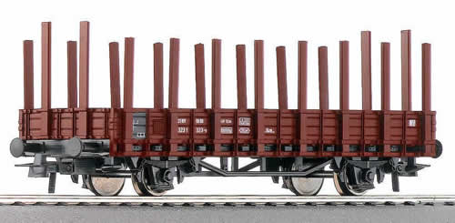 Roco 46031 - German Stake Wagon of the DB