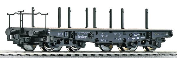 Roco 46385 - German Heavy duty flat wagon of the DRG