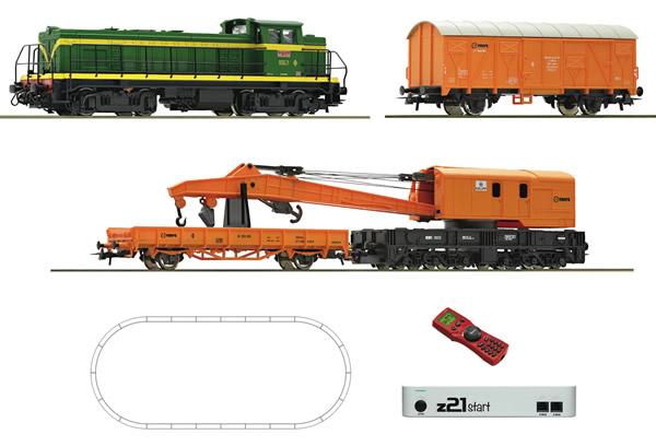 Roco 51305 - Digital z21® start Set: Diesel locomotive D.307 with train of the RENFE