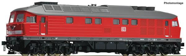 Roco 52496 - German Diesel locomotive class 233 of the DB-AG