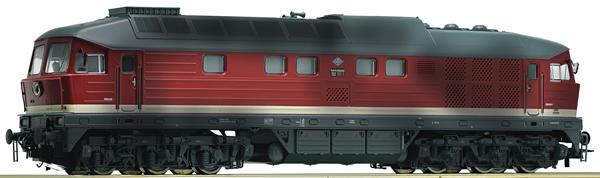 Roco 52499 - German Diesel Locomotive 132 285-8 of the DR (DCC Sound Decoder)
