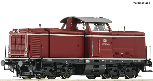 Roco 52526 - German Diesel locomotive class 211 of the DB