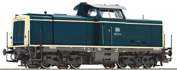 Roco 52538 - German Diesel Locomotive Class 212 of the DB
