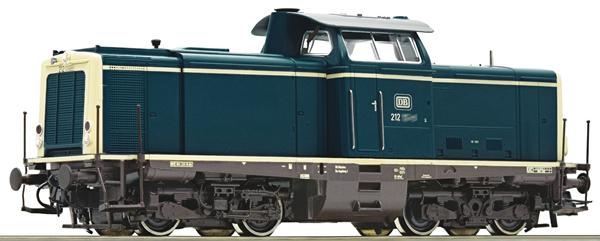 Roco 52539 - German Diesel Locomotive Class 212 of the DB (DCC Sound Decoder)