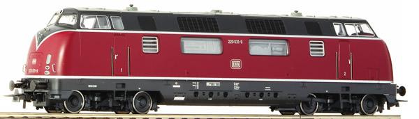 Roco 52680 - German Diesel locomotive 220 036-8 of the DB