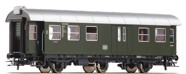 Roco 54293 - German 2nd Class Passenger Car with Luggage Compartment of the DB