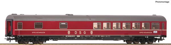 Roco 54453 - German Fast train restaurant car of the DB