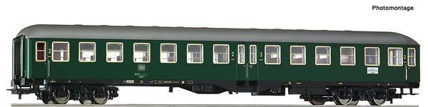 Roco 54462 - German 2nd class high capacity coach of the DB