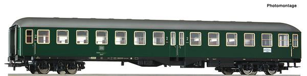 Roco 54462 - German 2nd class high capacity coach of the DB