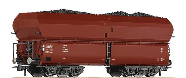 Roco 56333 - German Self Unloading Hopper Wagon of the DR