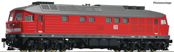 Roco 58497 - German Diesel locomotive class 233 of the DB-AG (Sound)