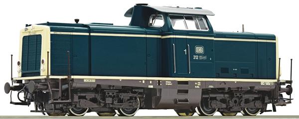 Roco 58539 - German Diesel Locomotive Class 212 of the DB (Sound Decoder)