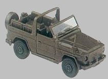 Roco 587 - Mercedes Benz 230G Wolf jeep