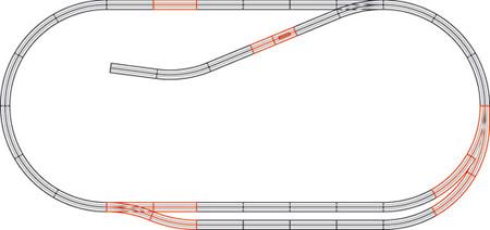 Roco 61102 - Track Set C