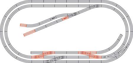 Roco 61104 - Track Set E