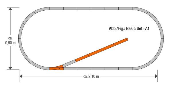 Roco 61150 - Geoline Track Set A1