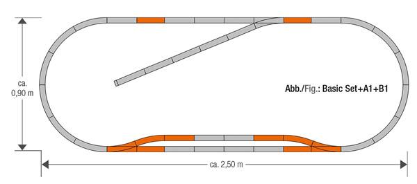 Roco 61151 - Geoline Track Set B1