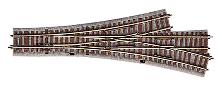Roco 61160 - Three Way Turnout 22.5° Symmetrical