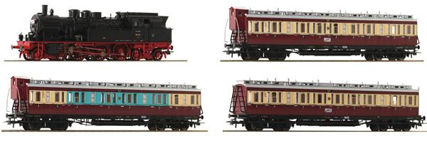 """Roco 61477 - 4 piece set: """"Ruhr Schnellverkehr"""" of the DRG"""