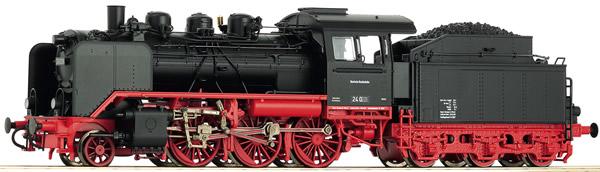 Roco 62216 - German Steam Locomotive 24 017 of the DB (DCC Sound Decoder)