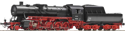 Roco 62256 - Steam Locomotive BR 50 w/ Tub Tender w/Sound