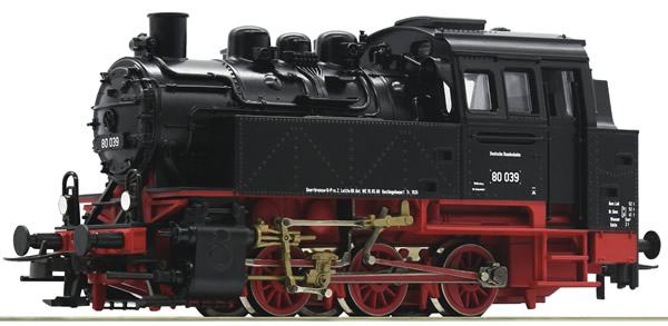 Roco 63338 - German Steam Locomotive BR 80 of the DB