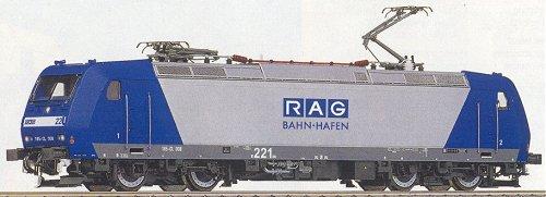 Roco 63598 - Class 185 Electric RAG Loco